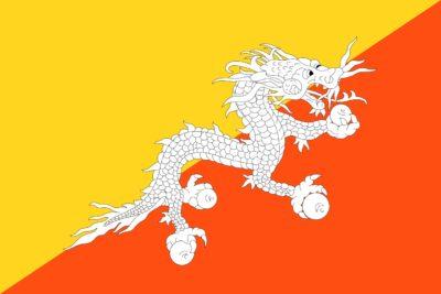 Bankbiljetten Bhutan
