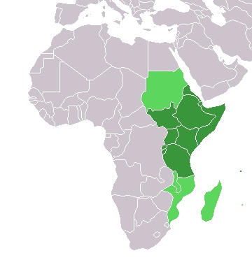 Worldcoins East Africa States