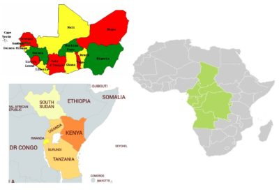 Worldcoins African States