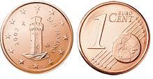 San Marino 1 Cent