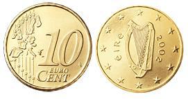 Ierland 10 Cent