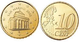 San Marino 10 Cent