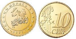 Monaco 10 Cent