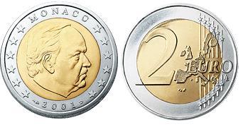 Monaco 2 Euro