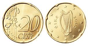 Ierland 20 Cent