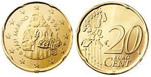 San Marino 20 Cent