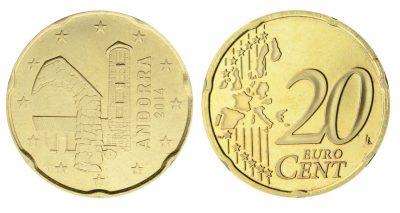 Andorra 20 Cent