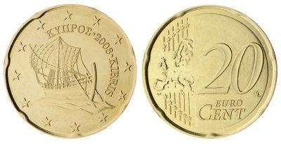 Cyprus 20 Cent