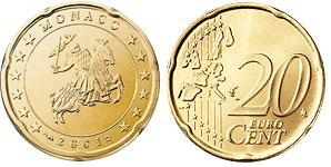 Monaco 20 Cent