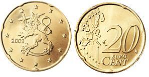 Finland 20 Cent