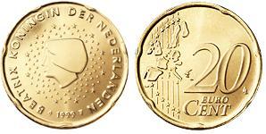Nederland 20 Eurocent