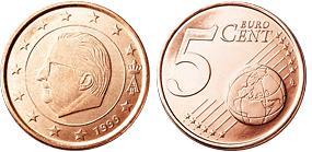 Belgie 5 Cent