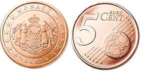Monaco 5 Cent
