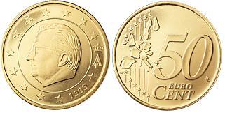 Belgie 50 Cent