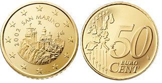 San Marino 50 Cent