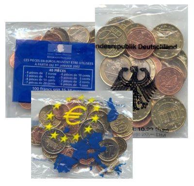 Euromunten Starterkits