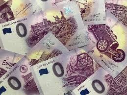 Bankbiljetten 0 Euro Biljet