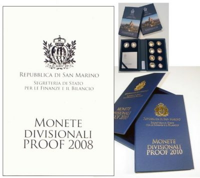 San Marino Proof Sets