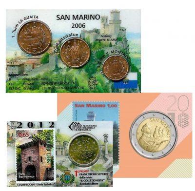 San Marino Coincards