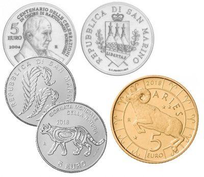 San Marino 5 Euro