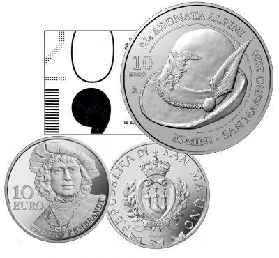 San Marino 10 Euro