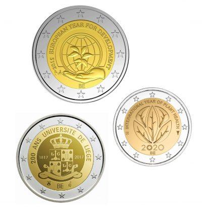 Speciale 2 Euromunten Belgie Unc