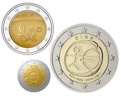 Speciale 2 Euromunten Ierland Unc