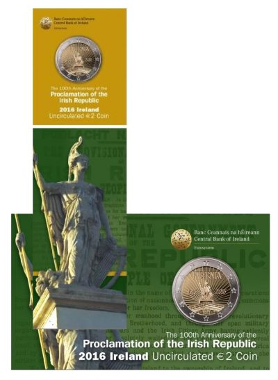 Speciale 2 Euromunten Ierland Coincards