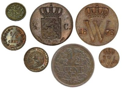 Nederland ½ Cent