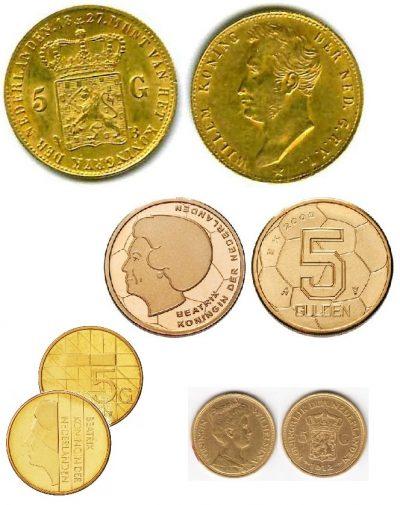 Nederland 5 Gulden
