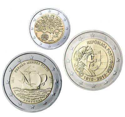 Speciale 2 Euromunten Portugal Unc