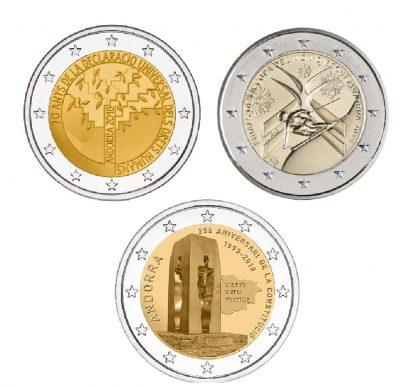 Speciale 2 Euromunten Andorra Unc