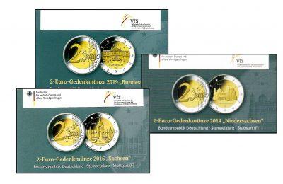 Speciale 2 Euromunten Duitsland Coincards