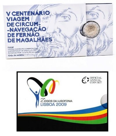 Speciale 2 Euromunten Portugal Proof