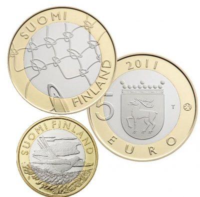 Finland 5 Euro Unc