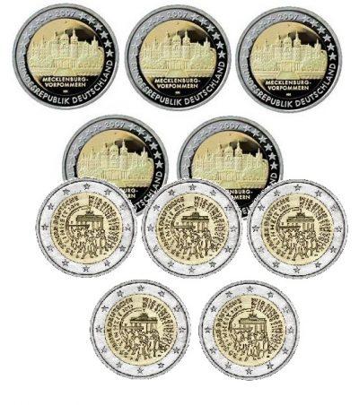 Speciale 2 Euromunten Duitsland Unc Serie