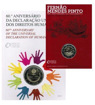 Speciale 2 Euromunten Portugal Coincards