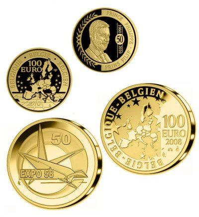 Belgie 100 Euro