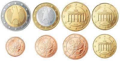 Euromunten Unc Sets Duitsland
