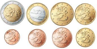 Euromunten Unc Sets Finland