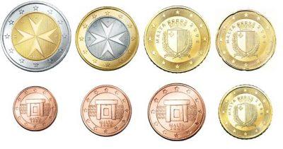 Euromunten Unc Sets Malta