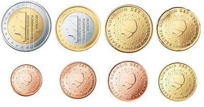 Euromunten Unc Sets Nederland