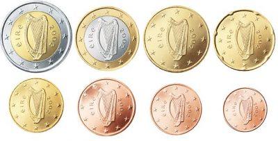 Euromunten Unc Sets Ierland