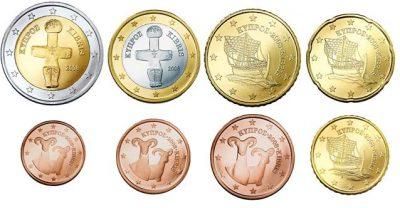 Euromunten Unc Sets Cyprus