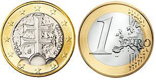 Slowakije 1 Euro