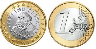 Slovenie 1 Euro