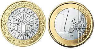 Frankrijk 1 Euro