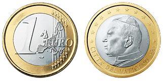 Vaticaan 1 Euro