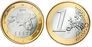 Estland 1 Euro