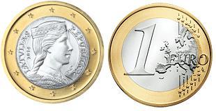 Letland 1 Euro